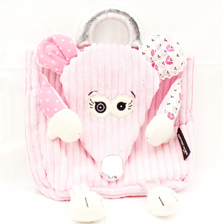 PINK MOUSE BAG